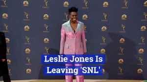 SNL Loses Leslie Jones [Video]