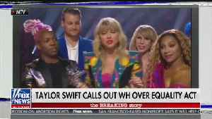 News video: 'You Need to Calm Down' On Air': Kellyanne Conway flips Taylor Swift's song on her over Equality Act