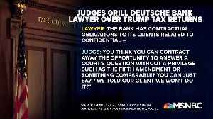News on Deutsche Bank letter on Trump tax returns [Video]