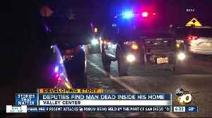 Man found dead inside Valley Center home [Video]