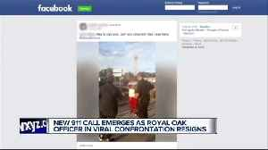 Royal Oak officer who questioned black man after white woman claimed he was staring at her resigns [Video]