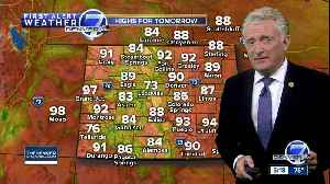 Fine fall feel to the forecast across Colorado - but not for long! [Video]