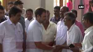 Rahul Gandhi visits relief camp at St Thomas Church in Wayanad [Video]