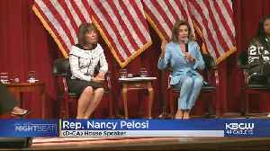 Nancy Pelosi, Rep. Speier Speak At San Francisco Town Hall On Gun Violence [Video]