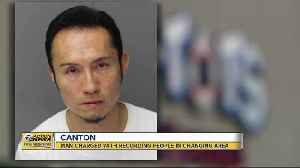 Man charged with recording people in changing area in Canton [Video]