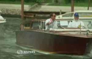 Brad Pitt arrives at Venice film festival [Video]