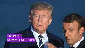 Trump's bizarre G7: His strangest moments [Video]