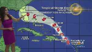 11AM Advisory: Tropical Storm Dorian [Video]