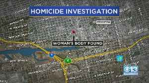 Stockton Woman's Death Being Investigated [Video]