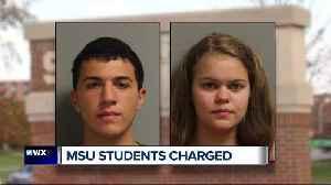 News video: MSU students accused of making false terror threat against president