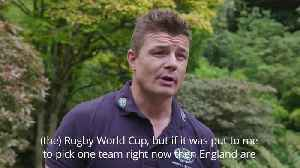 Brian O'Driscoll tips England to win the Rugby World Cup [Video]