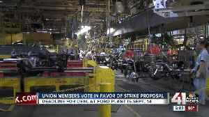 Local Ford plant auto workers prepare to go on strike [Video]