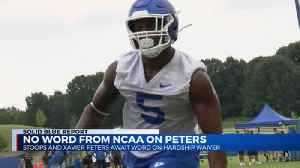 UK Football still awaiting word on Xavier Peters [Video]