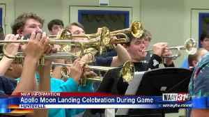 Apollo Moon Landing Band Celebration [Video]