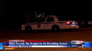 Rifle Found, No Suspects At Shooting Scene [Video]