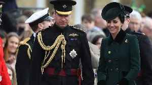 Prince William & Kate Middleton Step Out For The St. Patrick's Day Parade and More News [Video]