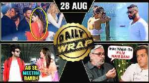 Media BANS Kangana, Kartik Controls Sara's Diet, Malaika Arjun Secret Vacation | Top 10 News [Video]