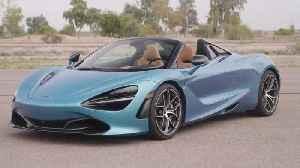 McLaren 720S Spider Design in Belize Blue [Video]