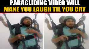 Hilarious Paragliding video goes viral, inspires memes on social media | Oneindia News [Video]
