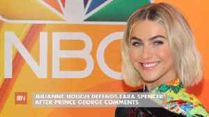 Julianne Hough Talks About Prince George [Video]