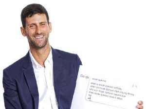 Novak Djokovic Answers the Web's Most Searched Questions [Video]