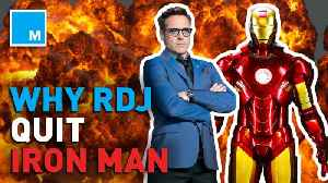 Robert Downey Jr. says he knew it was time to retire from MCU [Video]