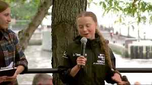 Swedish teen climate activist lands in New York [Video]