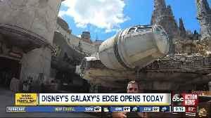 Disney's Galaxy's Edge opens [Video]