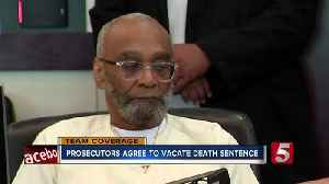 Prosecutors agree to vacate death sentence [Video]
