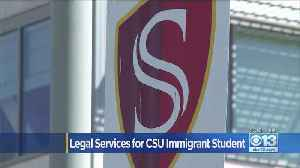 Legal Services For CSU Immigration Students [Video]