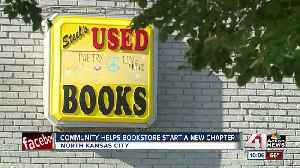 Community steps up to keep unique North Kansas City bookstore going [Video]
