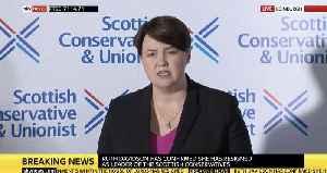 Ruth Davidson Announces Resignation As Scottish Conservative Leader [Video]