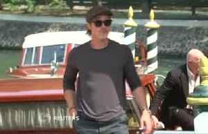 Adam Driver, Brad Pitt, Liv Tyler among stars arriving at Venice film festival by boat [Video]