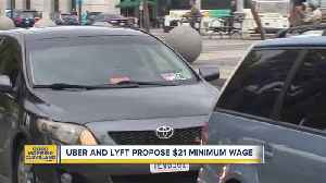 Minimum wage could go up for Uber, Lyft [Video]