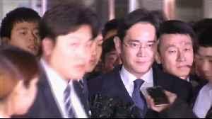 News video: S Korea's Supreme Court orders retrial for Samsung heir Jay Y Lee