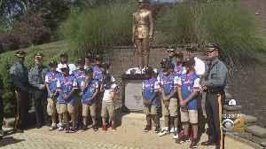 Gov. Murphy, NJ State Police Honor Elmora Troopers Team [Video]