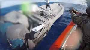 U.S. Coast Guard Ship Involved in Seizure of $38.5M Worth of Cocaine Returns to Port of L.A. [Video]