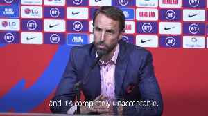 Southgate: 'Ingrained racism' of online trolls, not social media, is real issue [Video]