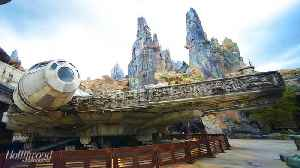 Disney World's Star Wars: Galaxy's Edge Reaches Capacity Minutes After Opening   THR News [Video]