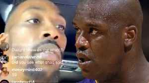 Dwight Howard RESPONDS To Shaqs Petty DISS On Instagram Live! [Video]