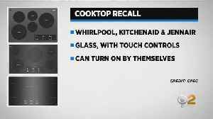 Whirlpool Cooktops Recalled [Video]