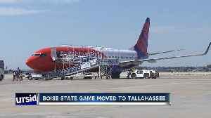 Boise State-Florida State game moved to Tallahassee due to Hurricane Dorian [Video]