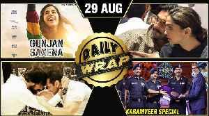 Ranveer Deepika London Date, Janhvi As Gunjan Saxena, KGF 2 In Trouble | Top 10 News [Video]