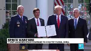 Space warfare: President Donald Trump launches space command to counter Russia and China [Video]
