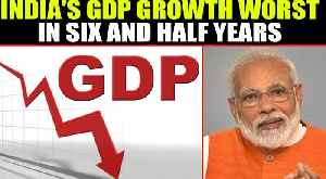 India's GDP growth slows to 5% in April-June 2019, worst in six and half years | Oneindia News [Video]