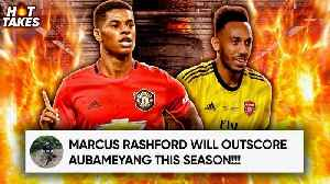 Can Marcus Rashford Win The Golden Boot This Season?!   #HotTakes [Video]