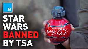 Galaxy's Edge Coke bottles banned by TSA [Video]