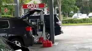 Florida residents stock up on gas as 'absolute monster' Hurricane Dorian expected to hit at Category 4 [Video]