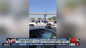 KHSD investigating after Frontier High's LGBTQ support group reportedly confronted with MAGA flags [Video]