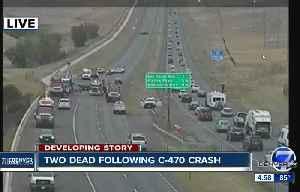 Two dead in C-470 crash [Video]